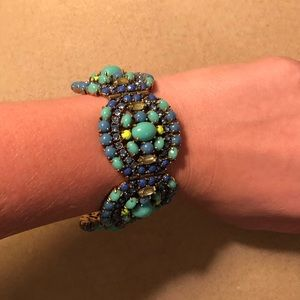 Beautiful Stella & Dot blue statement bracelet